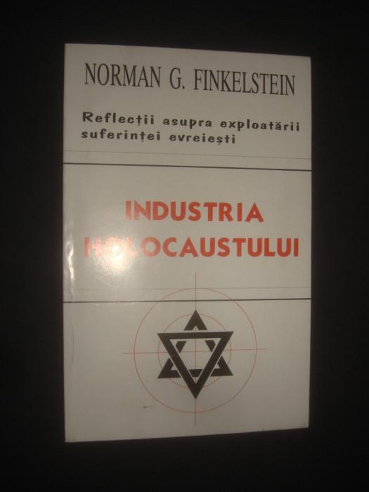 NORMAN G. FINKELSTEIN - INDUSTRIA HOLOCAUSTULUI foto mare