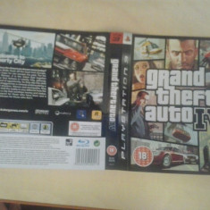 Coperta - Grand Theft Auto - GTA IV - PS3 ( GameLand )
