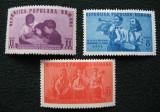 ROMANIA 1950 – PIONIERI, serie nestampilata M200, Nestampilat