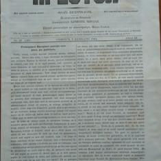 Ziarul religios , Preotul , foaie saptamanala , nr.21 , 1863 , chirilica