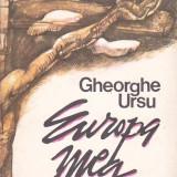 GHEORGHE URSU - EUROPA MEA - Carte de calatorie