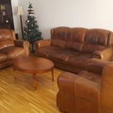 Canapea 3 2 1, Din piele ecologica