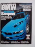 Revista auto Performance BMW June 2008 editata in U.K.