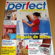 BURDA - PERFECT pentru casa mea - nr. 12/ 2006 - Revista casa