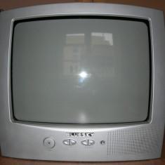 Televizor color, tub catodic, BLUESKY, diagonala 36 cm, functional + telecomanda - Televizor CRT