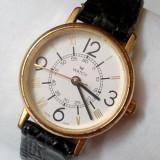M Watch Patent Mondaine Watch Ltd Switzerland M7603 800, placat cu aur