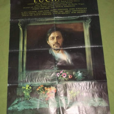 Doua afise mari film Stefan Luchian (1981) Romaniafilm 97x68 cm
