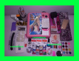 Kit unghii gel / set unghii false- lampa, pila ,geluri colorate +GHID | extra