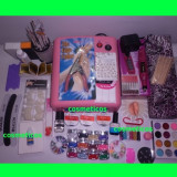 Kit unghii gel / set Unghii false Sina- lampa, pila, geluri colorate +GHID | extra