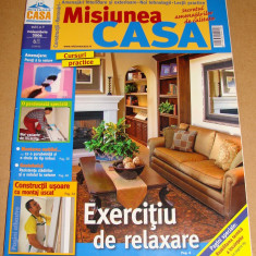 MISIUNEA CASA - Noiembrei 2006 - Revista casa