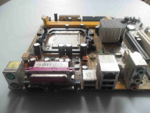 Placa de baza Asus M2V-TVM DDR2 PCI Express Video onboard socket AM2
