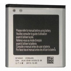 Acumulator Samsung Galaxy S4 Zoom cod B740AE 2330 mAh orginal nou, Li-ion