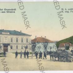 47 - ORSOVA, Carriages, Market - old postcard - unused - Carte Postala Oltenia 1904-1918, Necirculata, Printata