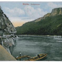 354 - Caras-Severin, BAZIAS, boat - old postcard - unused - Carte Postala Banat 1904-1918, Necirculata, Printata