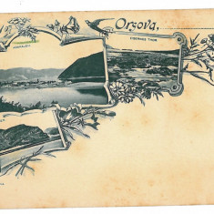 49 - L i t h o, ORSOVA - old postcard - unused - Carte Postala Oltenia pana la 1904, Necirculata, Printata