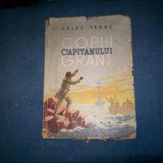COPIII CAPITANULUI GRANT JULES VERNE - Carte de aventura