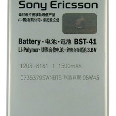 Acumulator Sony Xperia X1 cod BST-41 original nou