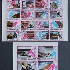 MANAMA 1971 - JOCURI OLIMPICE, 20 VALORI NEDANTELATE OBLITERATE - EO 316