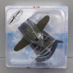 Avion Polikarpov I-16, Avioane De Legenda - DeAgostini Rusia - Macheta Aeromodel
