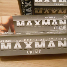 MAXMAN - Crema pentru intarzierea ejacularii - Tratamente