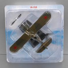 Avion Polikarpov I-153, Avioane De Legenda - DeAgostini Rusia - Macheta Aeromodel