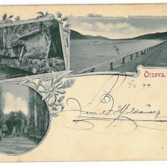 179 - L i t h o, ORSOVA - old postcard - used - 1899 - Carte Postala Oltenia pana la 1904, Circulata, Printata