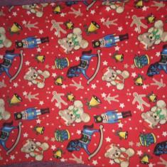 Paturica rosie copii dimensiune 150 x 120 cm, SH, usor folosita - Lenjerie pat copii, Alte dimensiuni, Rosu