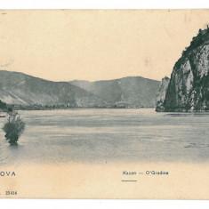 289 - Orsova, KAZANELE DUNARII - old postcard - used - 1912 - Carte Postala Oltenia 1904-1918, Circulata, Printata