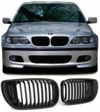 Grile negre BMW seria 3 E46 2001- 2005 (Facelift ), 3 (E46) - [1998 - 2005]