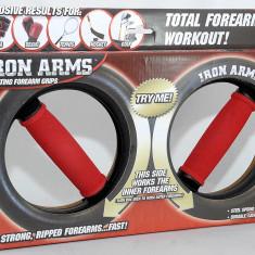 Aparat fitness pentru antebrate si incheieturi - Iron Arms - Nou