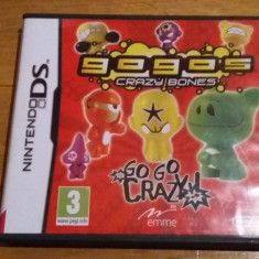 JOC NINTENDO DS GOGO's CRAZY BONES ORIGINAL / by WADDER - Jocuri Nintendo DS Altele, Board games, 3+, Single player