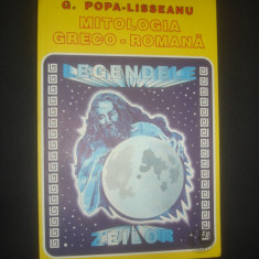 G. POPA-LISSEANU - MITOLOGIA GRECO-ROMANA - Carte mitologie
