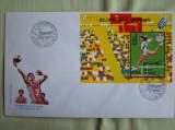 FDC ROMANIA 50 % - Barcelona '92 Colita Nedantelata - nr. lista 1291, Romania de la 1950