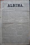 Ziarul Albina , nr. 23 , 1870 , Budapesta , in limba romana , Director V. Babes