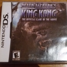 JOC NINTENDO DS PETER JACKSON's KING KONG ORIGINAL / by WADDER - Jocuri Nintendo DS Ubisoft, Actiune, 12+, Single player