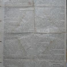 Ziarul Albina , nr. 22 , 1870 , Budapesta , in limba romana , Director V. Babes