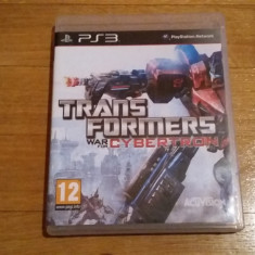 JOC PS3 TRANSFORMERS WAR FOR CYBERTRON ORIGINAL / by WADDER - Jocuri PS3 Activision, Actiune, 12+, Single player