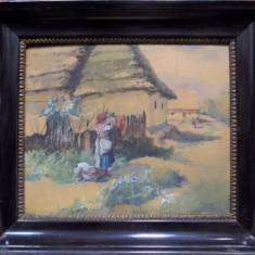 ANTAL NEOGRADY (1861-1942), INTINSUL RUFELOR - Pictor roman