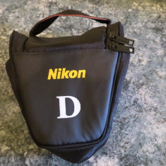 Geanta aparat Nikon D5100 A72 D3200/D7000/D600/D7100/D610/D5300/D90/D80/D70S - Geanta Aparat Foto
