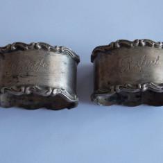 Inele de argint pentru servetele -114, Farfurii