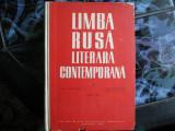 LIMBA RUSA LITERARA CONPEMPORANA COF.  N.  MANGUL