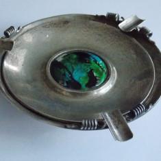 Scrumiera veche din argint - 476, Farfurii