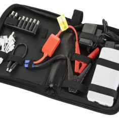 Power bank 12AH M-Life Kit Acumulator extern pornire auto 19V 16V 12V 5V - Redresor Auto, Sub 8
