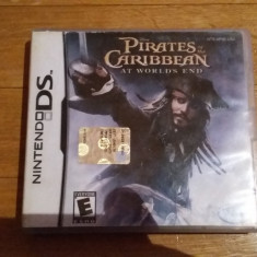 JOC NINTENDO DS DISNEY PIRATES OF THE CARIBBEAN AT WORLD's END ORIG / by WADDER - Jocuri Nintendo DS Capcom, Actiune, 12+, Single player