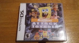 JOC NINTENDO DS NICKTOONS ATTACK OF THE TOYBOTS ORIGINAL / by WADDER, Actiune, 3+, Single player, Thq