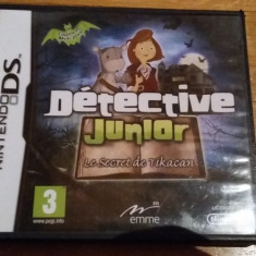 JOC NINTENDO DS JUNIOR MYSTERY STORIES ORIGINAL / by WADDER - Jocuri Nintendo DS Altele, Actiune, 3+, Single player