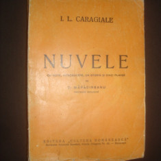 ION LUCA CARAGIALE - NUVELE  {1944}