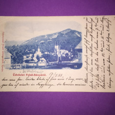 Baia Sprie - Maramures - Carte Postala Maramures 1904-1918, Circulata, Fotografie