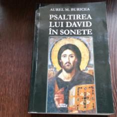 PSALTIREA LUI DAVID IN SONETE - AUREL M.BURICEA