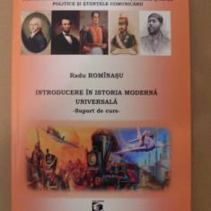 RADU ROMINASU - INTRODUCERE IN ISTORIA MODERNA UNIVERSALA (2015, 379 p.)